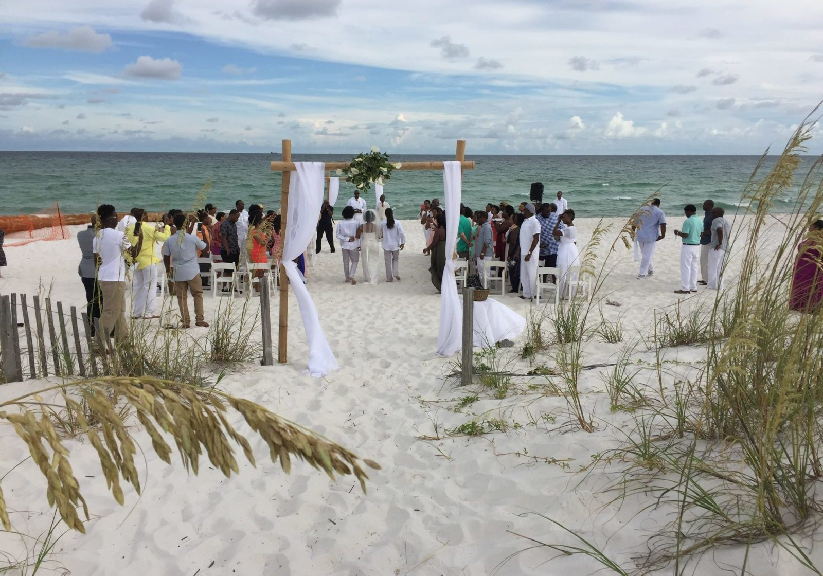 Entire Wedding on Beach