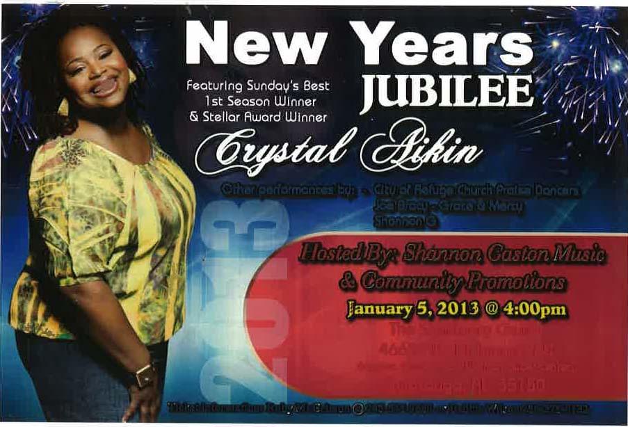 2013 Jubilee Event